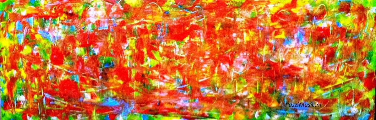 Favoriete Abstract Schilderij Kopen in opdracht laten maken.Sfeervol in huis @GA62