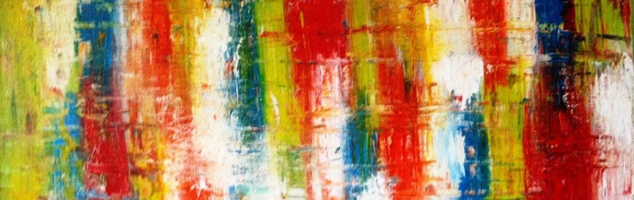 Super Abstract Schilderij Kopen in opdracht laten maken.Sfeervol in huis #IZ94