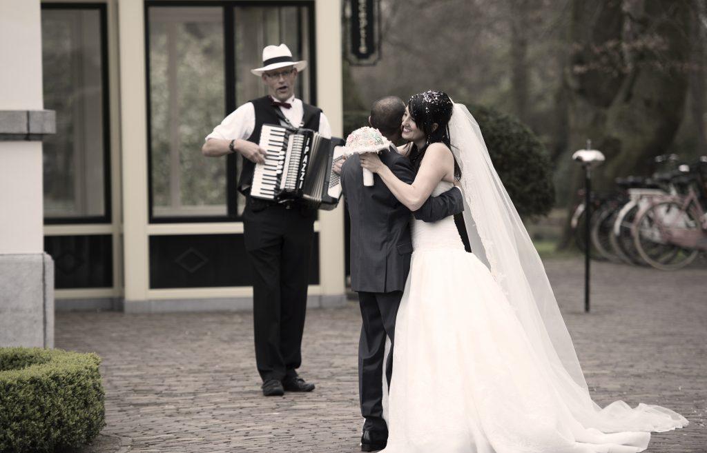 trouwdag bruiloft huwelijk muziek live