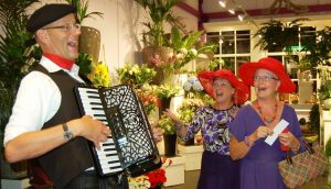 Franse Accordeonist Accordeon Muziek Frans en Chansons PazziMusic