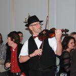 klezmer muziek zigeuner muziek violist viool accordeon accordeonist