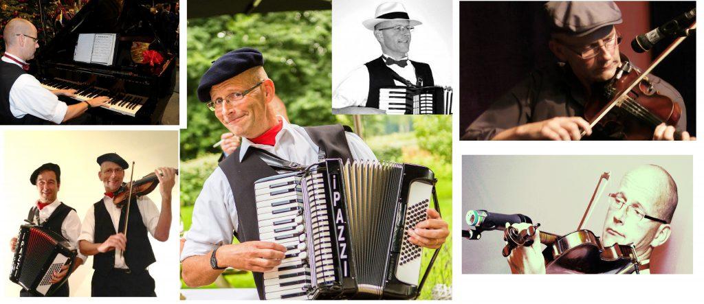 Accordeonist Violist Pianist Henk George Lippens van PazziMusic.nl