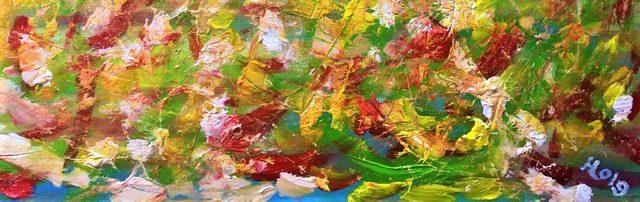 Ongebruikt Abstract Schilderij Kopen in opdracht laten maken.Sfeervol in huis YJ-48